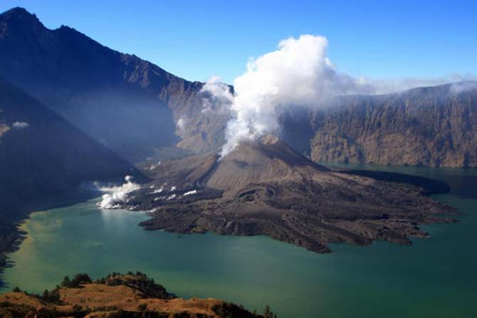 rinjani honeymoon trek